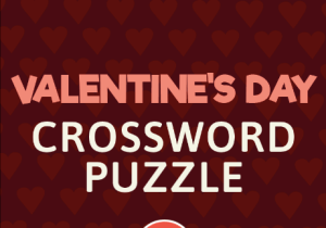 Valentine's Day Crossword Puzzle ABCYA Game