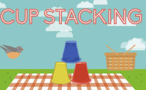 Cup Stacking Game ABCYA Game