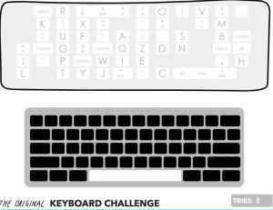 Keyboard Challenge ABCYA Game