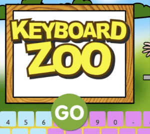 Keyboard Zoo ABCYA Game