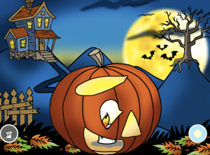 pumpkin carving game ABCYA Game
