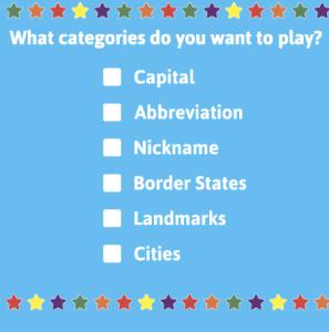State Bingo Game ABCYA Game
