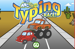 Typing Race ABCYA Game