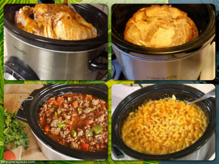 Slow Cooker Meals Collage