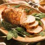 Celery rub pork-roast
