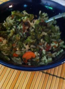 Photo Credit: Donna Ferris Shreve Waddell, Meal made with dehydrated foods