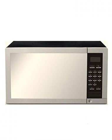 sharp r77 220v stainless steel microwave oven with grill 34 l stainless steel