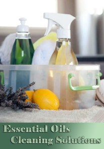 Eco-Friendly Essential Oils Cleaning Solutions