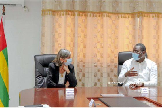 *République Togolaise* : L'ambassadrice de France en tournée auprès des communes
