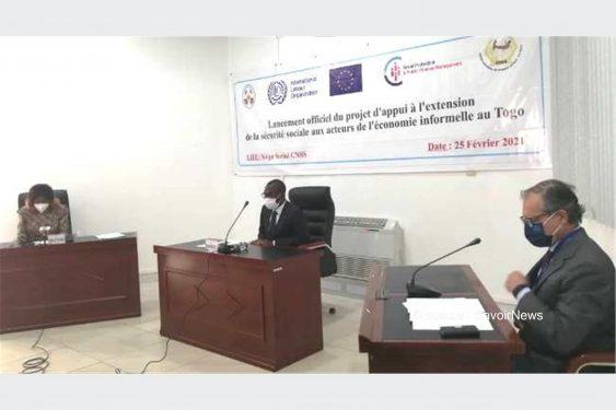 *Savoir News* : Extension de la sécurité sociale aux acteurs du secteur informel, le projet officiellement lancé ce jeudi à Lomé