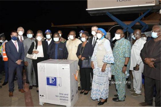 *L-Frii* : Initiative Covax : Les vaccins Covid-19 sont arrivés au Togo