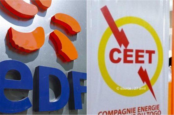 *27 avril* : Togo, le bradage des sociétés d'État continue : La CEET va passer sous le giron du géant français EDF…