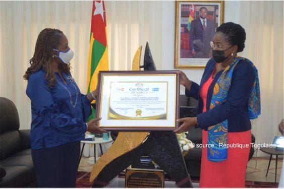 *République Togolaise* : Leadership féminin : l'UNFPA et Plan International distinguent le Togo