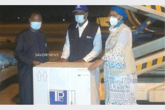 *Savoir News* : Covid-19: Le Togo reçoit 156.000 doses de vaccins Astra Zeneca