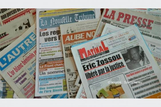 *Savoir News* : Voici les grands titres du quotidien national (La Nation) et des journaux privés en kiosques ce mercredi 17 Mars 2021 au Bénin