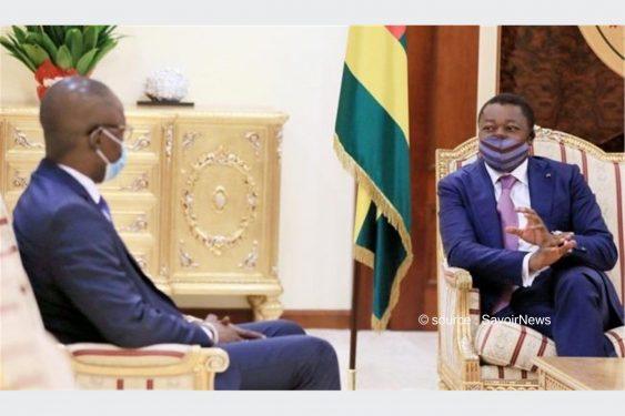 *Savoir News* : Une délégation du Conseil National de Transition du Mali reçue par Faure Gnassingbé