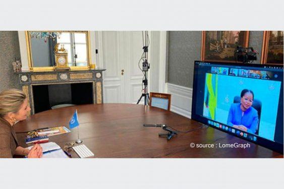 *LomeGraph* : Inclusion Financière au Togo : la Reine des Pays-Bas salue les efforts du gouvernement
