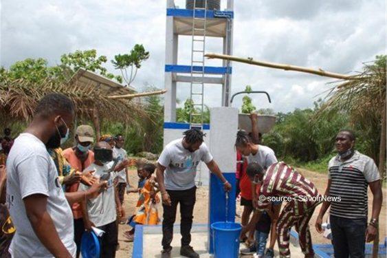 *Savoir News* : Les populations du village de Katoè disposent d'une mini-adduction d'eau potable, grâce à l'Ong QEWFA