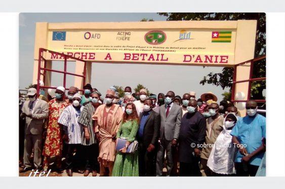 *Actu Togo* : Togo/Élevage : Un nouveau marché à bétail inauguré à Anié.