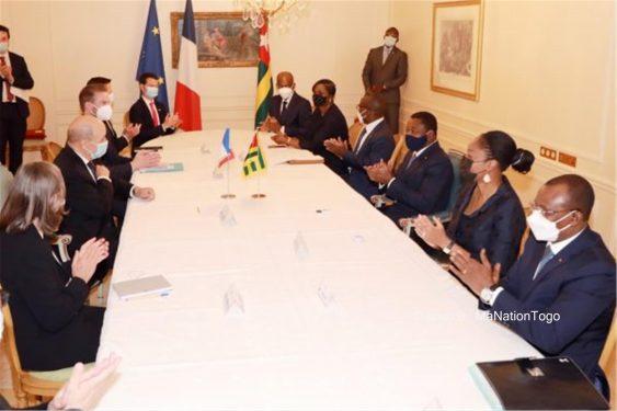 *Ma Nation Togo* : Séjour parisien de Faure Gnassingbé: plusieurs rencontres fructueuses