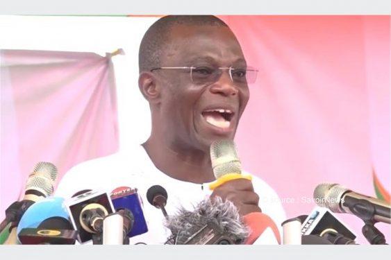 *Savoir News* : Présidentielle au Bénin : «Le combat que nous voulons mener est un combat de David contre Goliath» (Irénée Agossa)