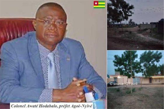 *27 avril* : Togo, Zone dite Akplomé dans la préfecture d'Agoenyivé : Plus de 5000 habitants sommés de déguerpir sans délai et sans indemnisation