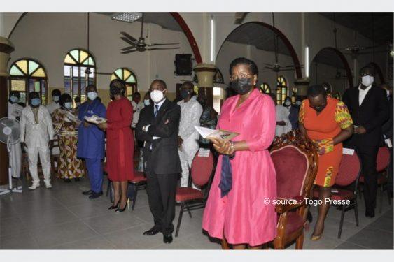 *Togo Presse* : Le Premier ministre Mme Victoire Tomégah-Dogbé a représenté le chef de l'Etat à l'intronisation du nouveau président de l'Eglise Méthodiste du Togo