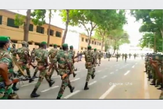 *L-Frii* : Togo / 27 avril : les militaires en pleins préparatifs pour le défilé (vidéos)