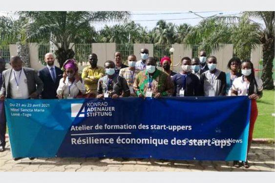 *Savoir News* : Résilience économique des start-ups : Une douzaine de jeunes en formation à Lomé