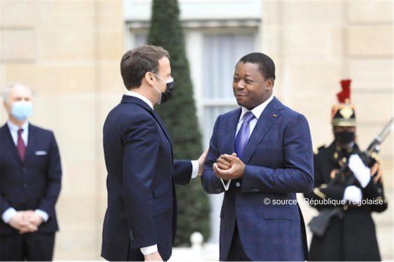 *République Togolaise* : Le Chef de l'Etat reçu à l'Elysée