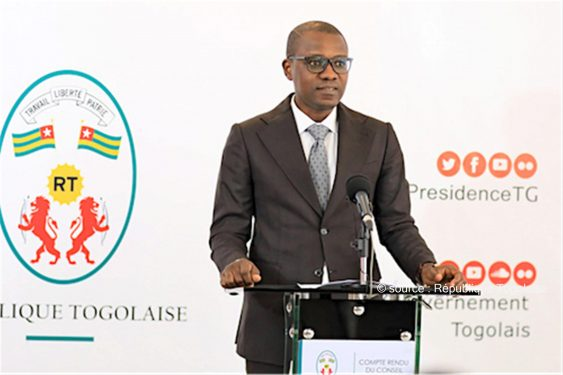 *République Togolaise* : Le Gouvernement se réserve le droit de rendre obligatoire le vaccin (Akodah Ayewouadan)