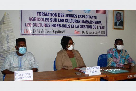 *Savoir News* : Renforcement de la gouvernance locale et décentralisation au Togo : Des exploitants agricoles des treize communes éligibles au projet à l'école des nouvelles techniques de production agricoles
