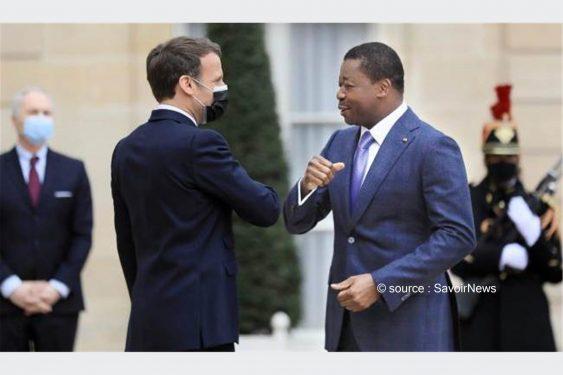 *Savoir News* : Faure Gnassingbé à l'Élysée : Renforcement du partenariat entre le Togo et la France et la lutte contre le terroriste