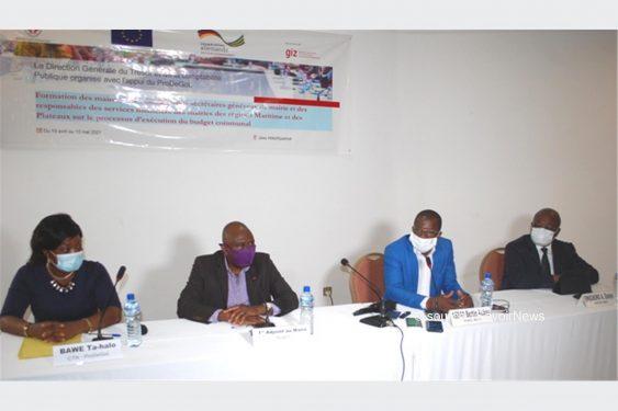 *Savoir News* : Togo/Processus d'exécution du budget communal : Les acteurs des communes des régions Maritime et Plateaux en charge de la gestion financière renforcent leurs capacités à Kpalimé