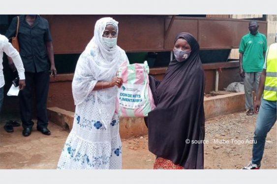 *Miabe Togo Actu* : Aide et Entraide: l'association AEDS vole au secours des familles vulnérables dans le grand Lomé