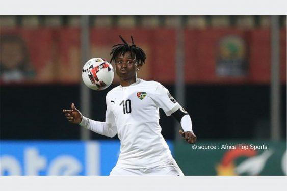 *Africa Top Sports* : Nane Richard : Du CHAN 2020 au championnat togolais, une nette progression