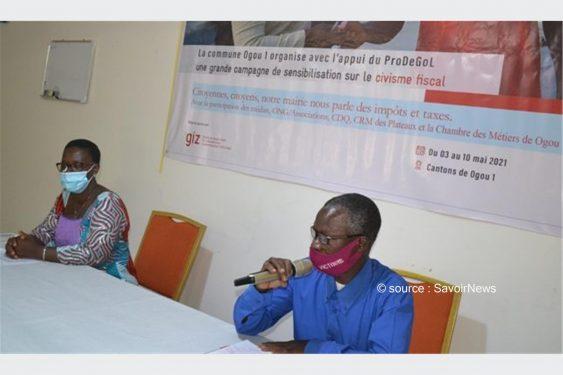 *Savoir News* : Paiement des impôts, taxes et redevances : Lancement d'une grande campagne de sensibilisation dans l'Ogou 1