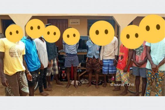 *L-Frii* : Togo: des cambrioleurs arrêtés dans 3 quartiers de Lomé avec leurs butins de crime (photos)
