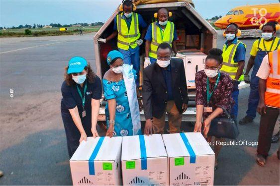 *Republic Of Togo* : Arrivée du vaccin à ARN messager à Lomé