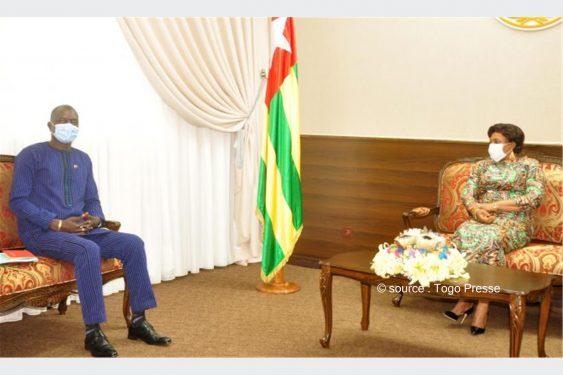 *Togo Presse* : La présidente de l'Assemblée nationale échange avec une délégation du CIP-UEMOA sur l'harmonisation du baccalauréat