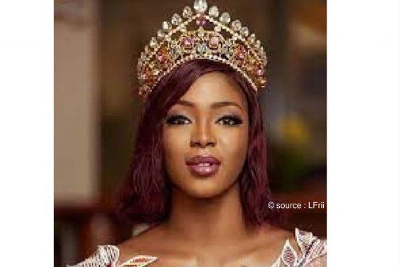 *L-Frii* : Aida Yombo : la Miss Togo pose seins nus et fait rêver (photo)