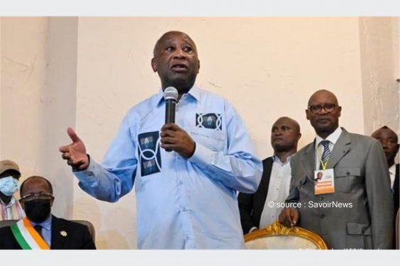 *Savoir News* : Laurent Gbagbo s'inquiète de «la violence qui se perpétue» en Côte d'Ivoire