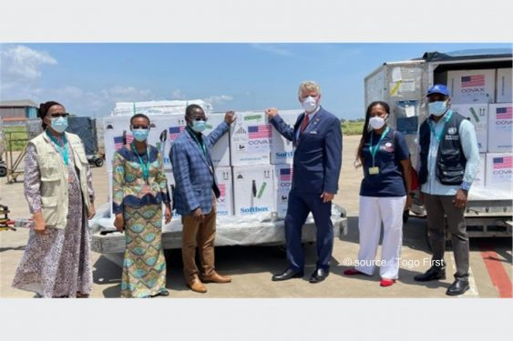 *Togo First* : L'Oncle Sam offre 300 000 nouvelles doses de Pfizer au Togo