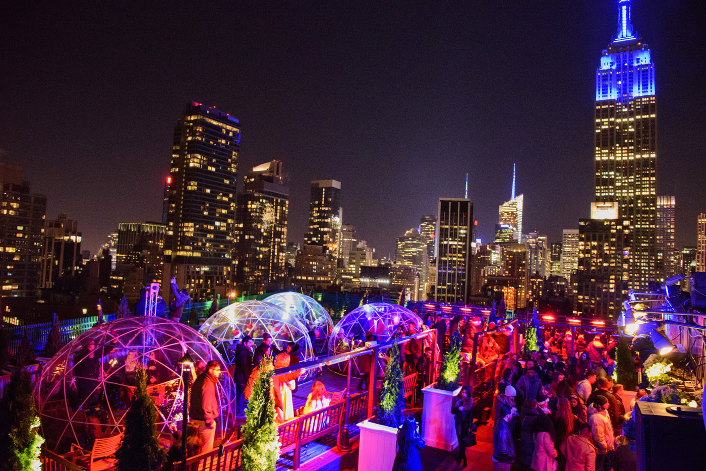 Venue Rooftop Bar NYC New Yorks Largest Indoor And