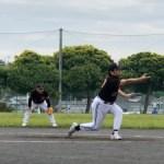 宮前区長杯にて大リーグボール3号敗れる!西長沢グラン ドを体感しながら。