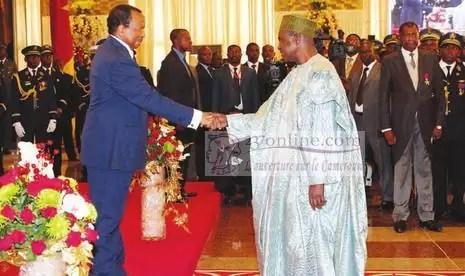 Bello Bouba et exellence Paul BIYA