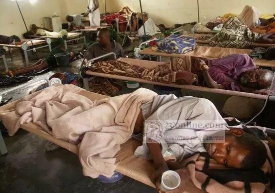 Malade du Cholera