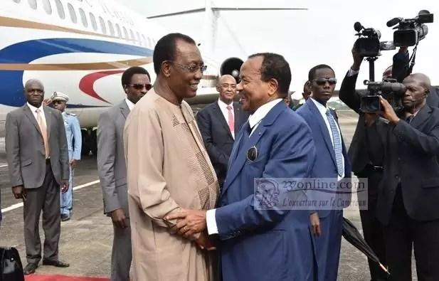 Paul Biya et Idriss Deby