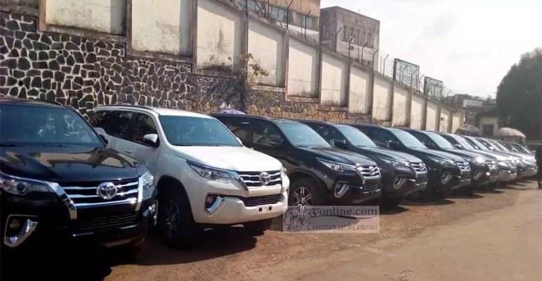 Des voitures de luxes pour les deputés camerounais