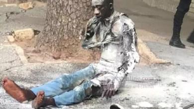 Photo de Sénégal : pourquoi Cheikh Diop a voulu s'immoler par le feu devant le palais de Macky Sall ?